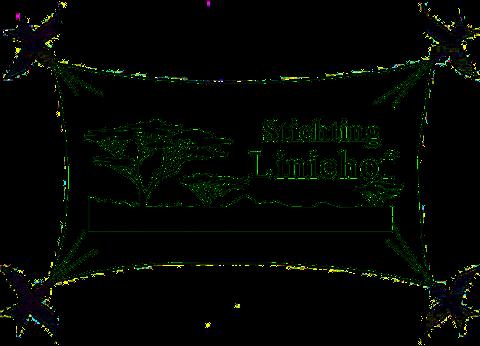 Logo Stichting Liniehof - 4 zwaluwen ontvouwen een landschap