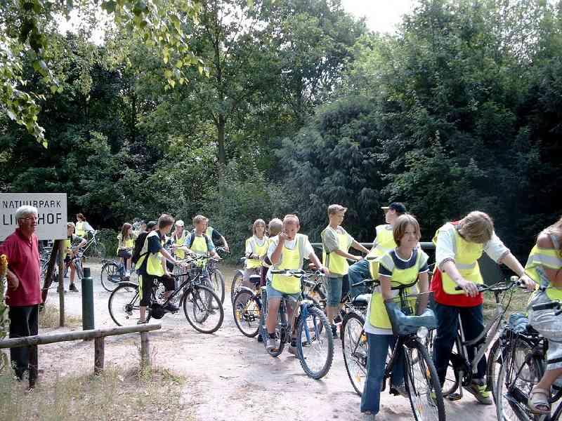 Natuurpark_Fietsexcursie_Schoolklas