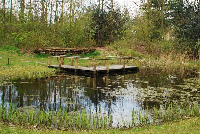 Natuurpark_Vijver_met_Wateronderzoeksplatform